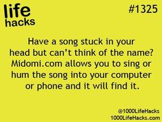 Don't Know the Song Life Hack
