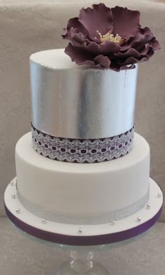 Silver Leaf And Peony Class Taught By Paula Whitby From Cake Couture More Details