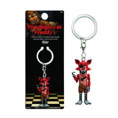 Funko Five Nights At Freddy's Foxy Figure Keychain - Radar Toys