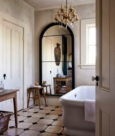 Habitually Chic®: Outlined- bathroom