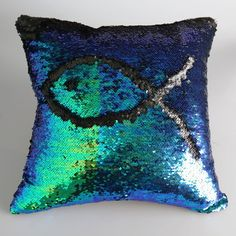 SHARE & Get it FREE | Stylish DIY Pattern Gradient Blue Black Two Tone Sequins Pillow CaseFor Fashion Lovers only:80,000+ Items • New Arrivals Daily • Affordable Casual to Chic for Every Occasion Join Sammydress: Get YOUR $50 NOW!