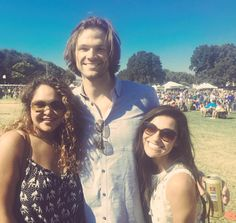 Jared with fans at the ACL music festival in Austin, October 2015