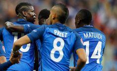 """I francesi abbattono gli islandesi 5-2 e passano senza alcuna difficoltà in semifinale. Sarà dunque FRANCIA-GERMANIA. Match tra """"simpatici"""".."""