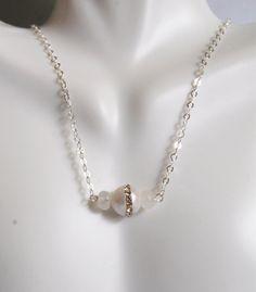 Wedding Jewelry  Fresh Water pearl And by ferozasjewelery on Etsy, $48.00
