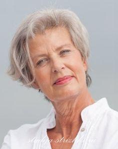 Стрижки для женщин за 60