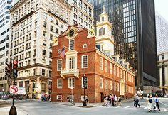 Old State house, edificio icónico de Boston
