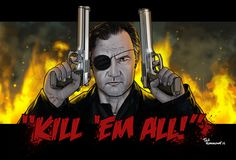 The Art of The Walking Dead   Kill em all! by ted1air.