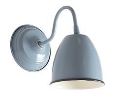 Wandlampe wand industrielampe shabby strahler metall modern retro