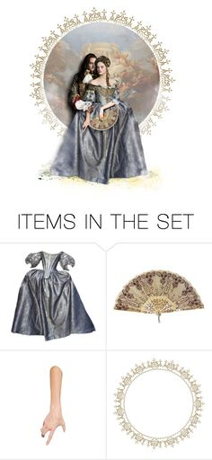 """Versailles: The King & Henriette"" by annette-heathen ❤ liked on Polyvore featuring art and versailles"