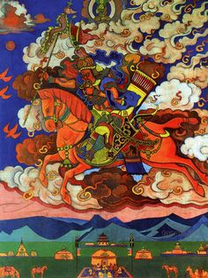 The Coming One (Ulan Bator Art Museum, Mongolia)