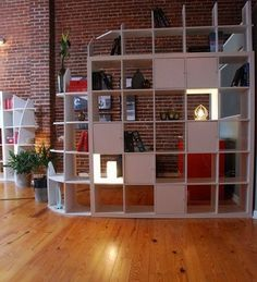 Google Image Result for http://2.bp.blogspot.com/_VyaOMCUEpoU/SlK1qk8HvlI/AAAAAAAAAVk/mudrOeBehOI/s400/Hacked2.jpg  Great idea for dividing spaces and giving you more storage