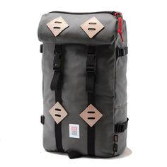 Topo Designs 22L Klettersack (Charcoal)