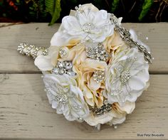 Jeweled Butterfly Bouquet - BluePetyl.com