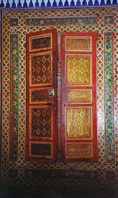 Puerta de la Casa de Pilatos. Sevilla