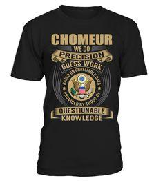 chomeur - We Do Precision Guess Work