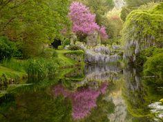 Fairy Garden of Ninfa, Italy