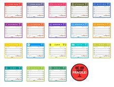 Use these printable box labels to organize your move. : Use this printable box .Use these printable box labels to organize your move. : Use these printable box labels to organize your move. Moving Binder, Moving Boxes, Moving Day, Moving Tips, Moving Labels, Organizing For A Move, Moving Checklist, Packing To Move, Printable Labels