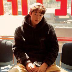 "Columbia Korea - 2019 F/W ""Fall in Fleece"" Collection Nam Joo Hyuk Smile, Nam Joo Hyuk Cute, Drama Korea, Korean Drama, Korean Men, Korean Actors, Nam Joo Hyuk Wallpaper, Jong Hyuk, Joon Hyung"