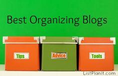 Great Blog Sources for Organizing Inspiration   ListPlanIt.com