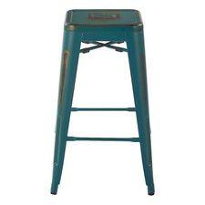 26 Set of 2 Bristow Antique Metal Barstools Red - Osp Home Furnishings Red Bar Stools, Outdoor Bar Stools, Metal Bar Stools, Swivel Bar Stools, Counter Stools, Laurel, Contemporary Bar Stools, Backless Bar Stools, Bar Seating