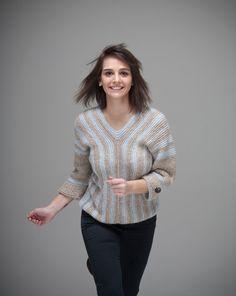 On The Road sweater one of a kind van NihanAltuntas op Etsy