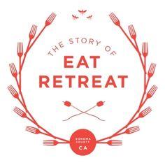 """Eat Retreat"" logo"