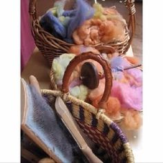 Plant dyeing, spinning, weaving workshop www.syrendell.com.