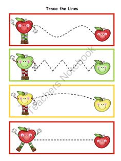 Preschool Printables: Apple