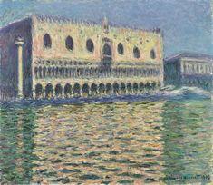 Claude Monet, Stretched Canvas Prints, Framed Prints, Monet Exhibition, A4 Poster, Poster Prints, Brooklyn Museum Of Art, Oil Canvas, Le Palais