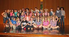 Students from West Mifflin High School rehearse for their spring musical, 'Willy Wonka.'