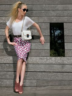A vez das estampas - Moda, Beleza, Estilo, Customizaçao e Receitas - Manequim - Editora Abril - Foto: Lamb Taylor