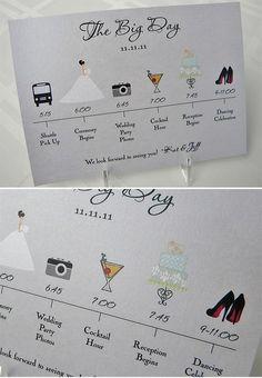 Veux-tu me bloguer ?! - L'invitation de mariage d'un(e) wedding planner !