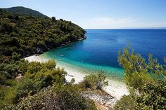 This is my most favourite beach on Korcula called Vaja. It is so stunning.