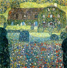 Gustav Klimt - Landhaus am Attersee