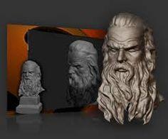 Esta es una imagen hecha por Sculptris.