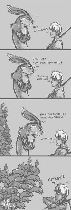 Rabbit army by KatRoart.deviantart.com on @DeviantArt