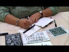 Learn some quick tricks for adding lettering to your mixed-media art or art journals with pens and markers.