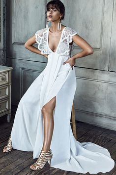 Get ready to fall head over heels for the new B L A N C collection by Grace Loves Lace! See it all here: http://www.stylemepretty.com/2016/06/01/the-b-l-a-n-c-collection-from-grace-loves-lace-is-here/ #sponsored