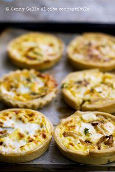 quiche caprino e cipolle caramellate #recipe #juliesoissons
