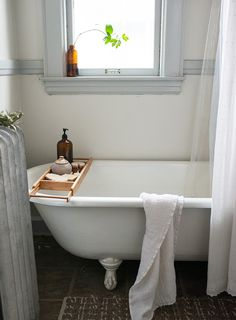 A Landlord's Mission-Style, Midwestern Duplex, Design*Sponge Bad Inspiration, Bathroom Inspiration, Interior Inspiration, Dream Bathrooms, Beautiful Bathrooms, Duplex Design, House Design, Interior And Exterior, Interior Design