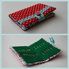 Needle book. I saw this on some blog somewhere and wanted one for myself...