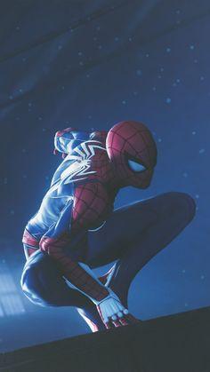Spider Man 2018 - - Ideas of - Spider Man 2018 Ultra HD Mobile Wallpaper. Marvel Comics, Marvel Art, Marvel Heroes, Marvel Avengers, Spiderman Drawing, Spiderman Art, Amazing Spiderman, Spider Man Amazing, Miles Spiderman