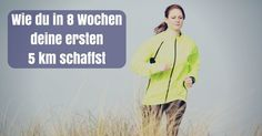 Trainingsplan Laufanfänger: Wie du in 8 Wochen deine ersten schaffst You finally want to be a runner? With this training program Run . Fitness Workouts, Yoga Fitness, Fitness Motivation, Health Fitness, Sports Training, Running Training, Jogging, Keep Running, Online Yoga
