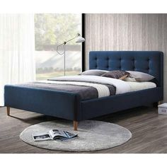 Order soft beds Bed PINKO by price EUR. Direct furniture delivery from SIGNAL (Poland) factory to Your home! Furniture Direct, Bed Furniture, Upholstered Beds, How To Make Bed, Platform Bed, Bed Design, Room Decor, Bedroom, Interior