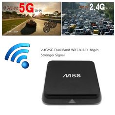 945f765f9d0 M8S Android 4.4 TV Box Amlogic S812 Quad Core Cortex-A9 2G   8G XBMC DLNA  Miracast Airplay H.264   H.265 4K   2K 5.0G   2.4G 802.11a b g n BT 4.0  Smart ...