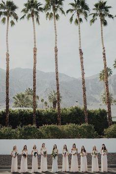Tropical bohemian Palm Springs wedding: Jessica + Patrick | 100 Layer Cake | Bloglovin'