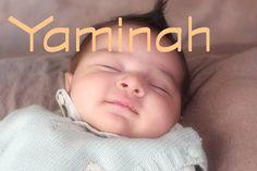 baby name Yaminah