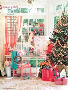 I couldn't believe how they transformed my garden room in to a holiday craft room.