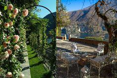Lake Como, Italy. The Jade of Laglio. Beautiful garden details of the lake side villa.  More pictures on www.lakecomoweddingdream.com  #lakecomo #lakecomowedding #destinationwedding #lakecomovenues