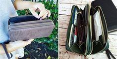 $9.99 - Fall Double Zipper Fashion Wallet - 5 Colors! - http://www.pinchingyourpennies.com/9-99-fall-double-zipper-fashion-wallet-5-colors/ #Fallwallet, #Jane, #Pinchingyourpennies